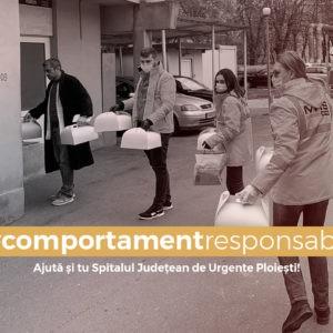 Ajută și tu Spitalul Judetean de Urgențe Ploiești